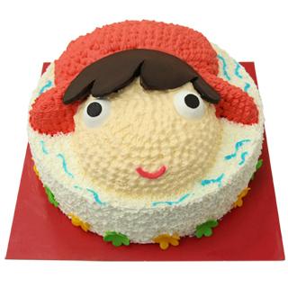 【巴特里】波妞 造型蛋糕(8吋)
