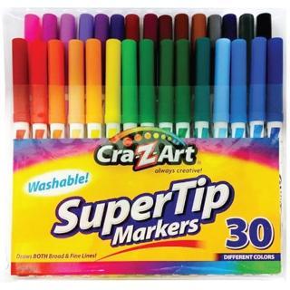 【美國Cra-Z-Art】30色可水洗彩色筆