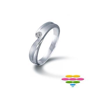 【彩糖鑽工坊】熱戀系列 鑽石戒指(CL-RF08)