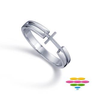 【彩糖鑽工坊】愛情心語系列 鑽石戒指(雙色款CL-RF15)