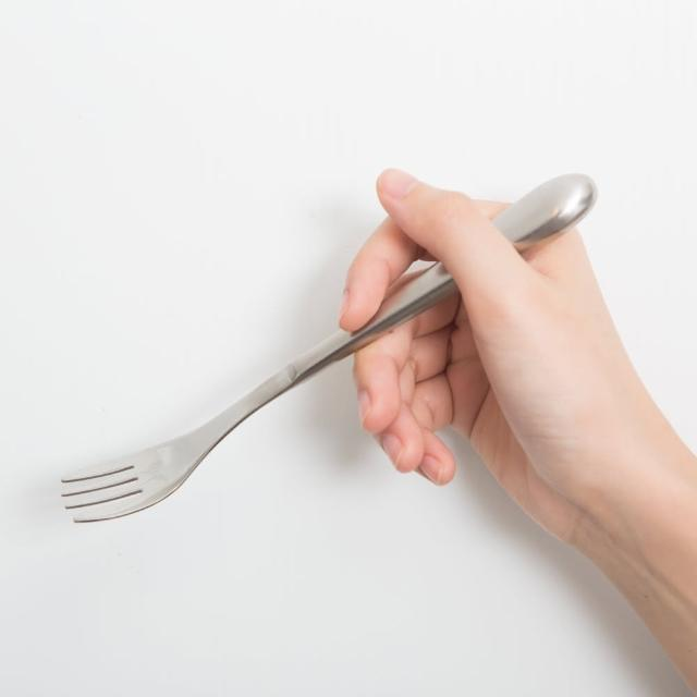 【樂活動】Ligmomo購物手機ht 輕量、功能型 輔助餐具(通用叉子)