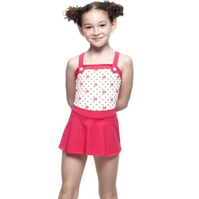 【私心大推】MOMO購物網【SARBIS】MIT女童連身裙泳裝(附泳帽B88409)好嗎momo購物網評價