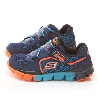 【SKECHERS】中大童 輕量運動鞋(95677LNVBL-深藍)