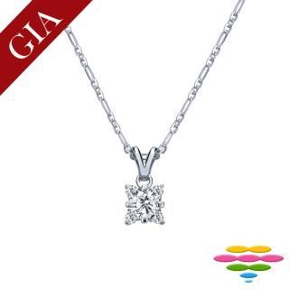 【彩糖鑽工坊】GIA 30分 北極光車工 F/VS2 鑽石項鍊(P27或P28或P29)