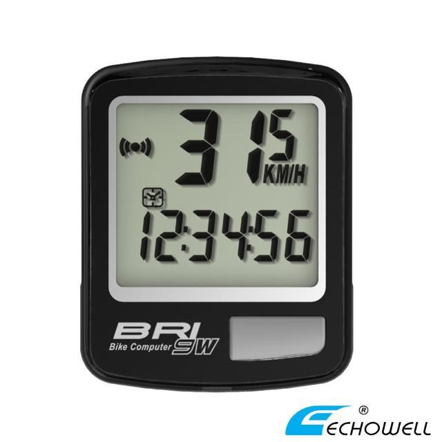 【好物分享】MOMO購物網【ECHOWELL】BRI-9W 多功能自行車無線碼錶(黑)去哪買momo網頁