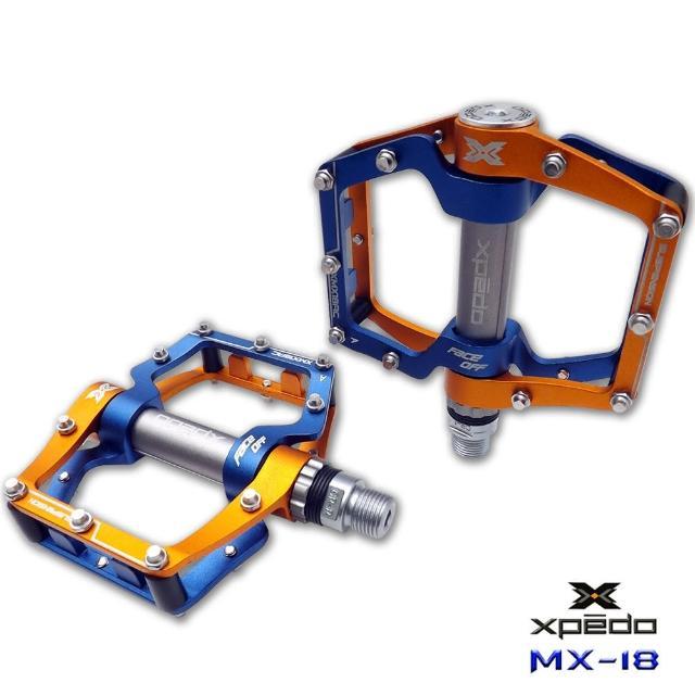 【勸敗】MOMO購物網【XPEDO】MX18 吸震式鋁合金腳踏(金藍)效果富邦momo客服電話