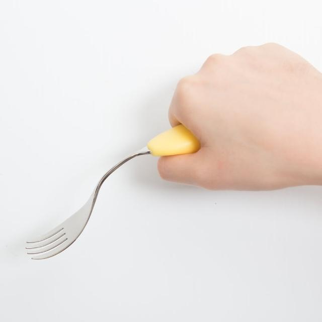 【樂活動】Balloon 輔助餐momo一台具(可彎型叉子)