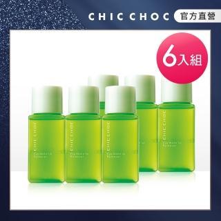 【CHIC CHOC】雙效柔膚卸眼液50ml(6入團購組)