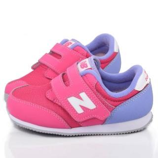 【NewBalance】中童 輕量運動鞋(KV620PVP-粉紫)