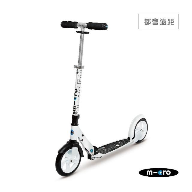 【真心勸敗】MOMO購物網【瑞士第一 Micro】Black / White 成人滑板車(大輪徑滑板車)好用嗎momo一台