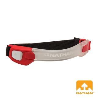 【NATHAN】LightBender 輕量防水LED手臂環(紅)