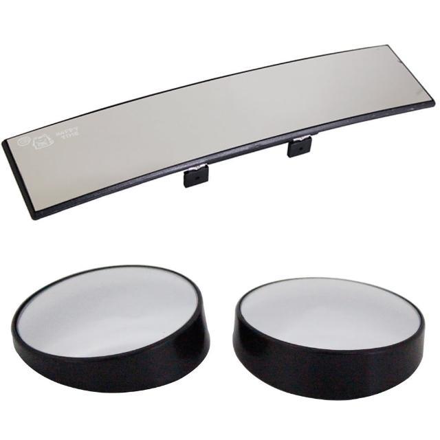 【勸敗】MOMO購物網【omax】廣角鍍鉻曲面後視鏡-1入+廣角輔助凸透大圓鏡LY602P-2入(1組)價錢momo百貨公司