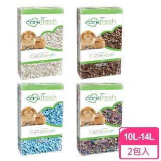 【美國凱優 CAREFRESH】小動物專用紙棉-保暖、除臭、環保、優於木屑(10LX2包入)