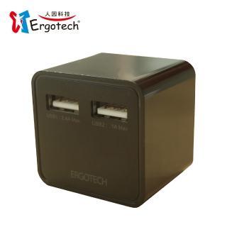 【人因科技】UA5301K 3.4A雙USB快速充電器(黑色)