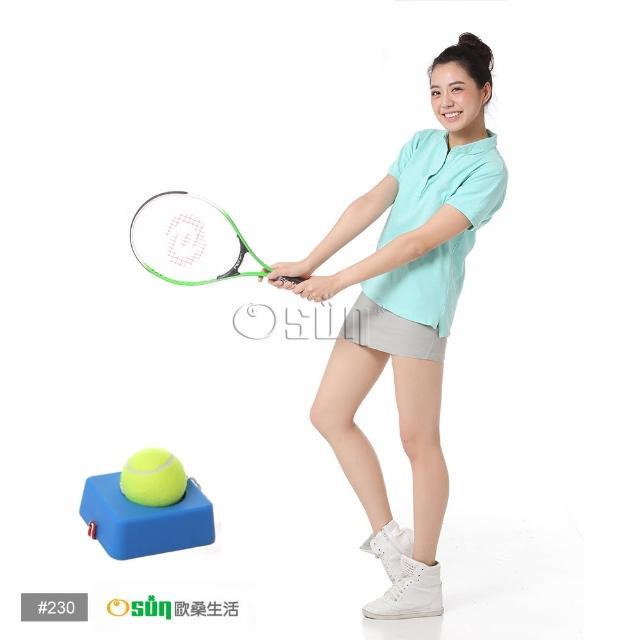 【私心大推】MOMO購物網【Osun】FS-T230兒童網球拍+硬式網球練習台(綠白CE-185F_A)價格momo shop taiwan