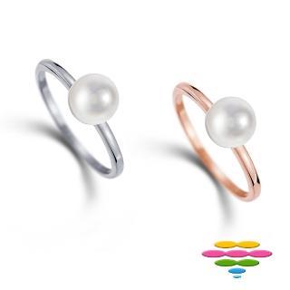 【彩糖鑽工坊】小確幸系列 14K金珍珠戒指(CL-RD150)