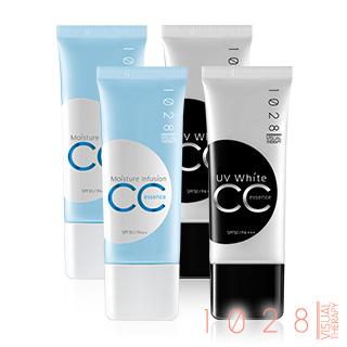 保濕CC霜SPF30 PA++x2 + 美白CC霜SPF50 PA+++x2(4入組)