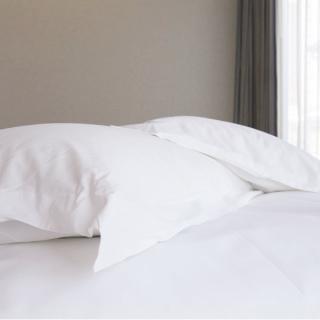 【法式寢飾花季】優雅生活-五星級飯店御用平紋枕套(2入組)