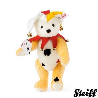 【STEIFF德國金耳釦泰迪熊】Joker Teddy Bear 帥氣小丑(限量版)