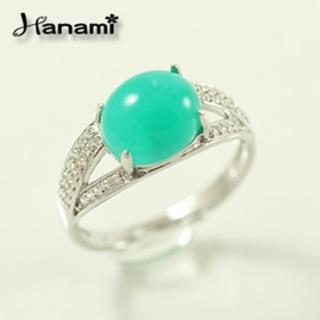 【Hanami】優雅簡約頂級台灣藍寶戒