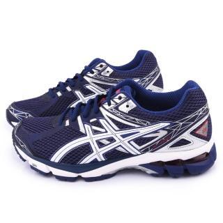 【Asics】男款GT-1000 3 高支撐型慢跑鞋(T4K4N-4801-藍)