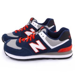 【NewBalance】經典574寬楦運動鞋(ML574CPM-2E-藍)