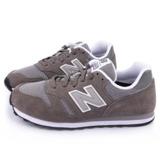【NewBalance】男款 麂皮復古運動鞋(ML373MMA-灰)