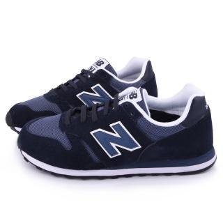【NewBalance】男款 麂皮復古運動鞋(ML373MMB-深藍)