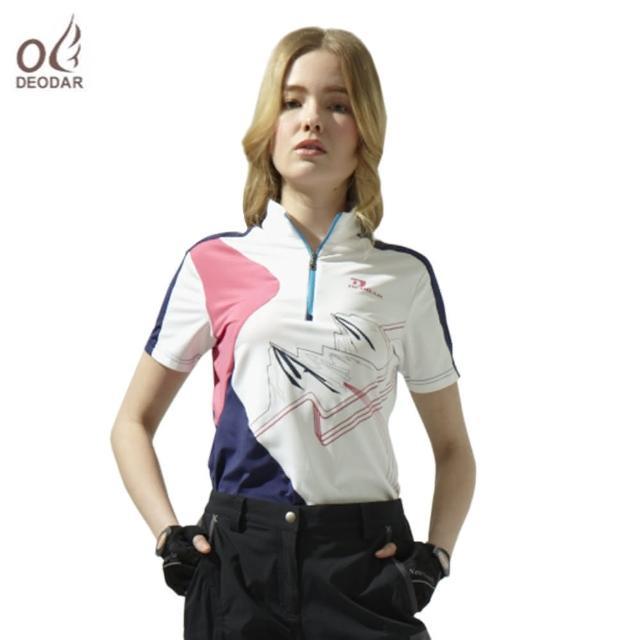 【好物分享】MOMO購物網【DEODAR】DEODAR 女款彈性機能吸濕透氣立領衫評價怎樣富邦momo旅遊評價