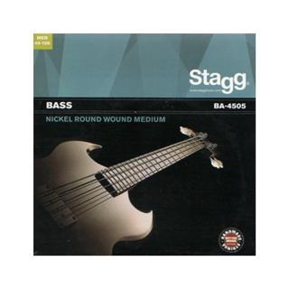 【Stagg 比利時品牌】鎳合金 Medium BA-4505 電貝司/斯/士 弦(1包入)