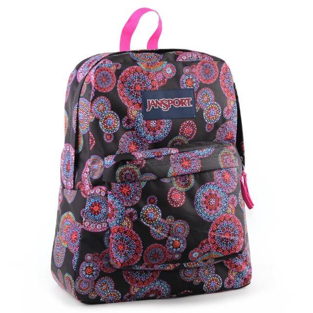 【真心勸敗】MOMO購物網【JanSport】校園背包-SUPER BREAK(花火)好嗎momo