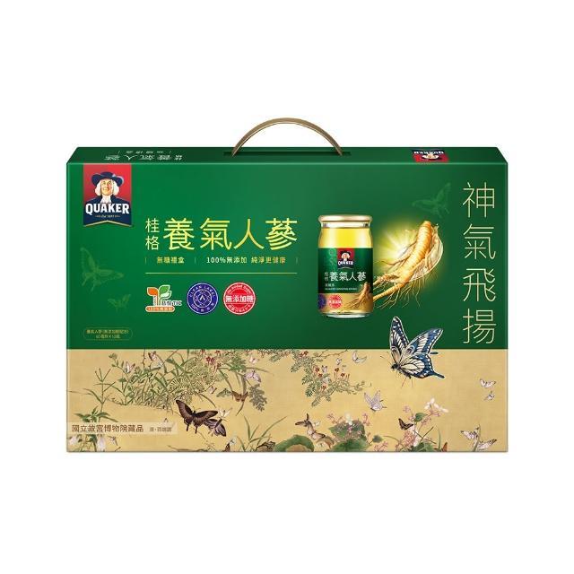 【桂格】無糖養momo富邦購物網客服電話氣人蔘禮盒60ml*12入