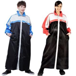 【JUMP】第二代俏麗輕柔前開風雨衣-5XL(超大尺寸)