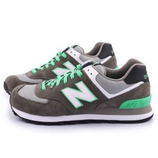 【NewBalance】男款 經典574寬楦運動鞋(ML574CPF-D-灰)