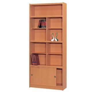 【時尚屋】豪豐3x7尺玻璃拉門書櫃(RC5-A37)
