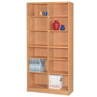 【時尚屋】豪豐3x6尺開放式書櫃(RC5-AB36)