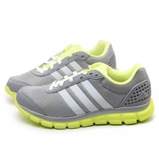【Adidas】女款 Breeze 202 避震慢跑運動鞋(B39793-灰)