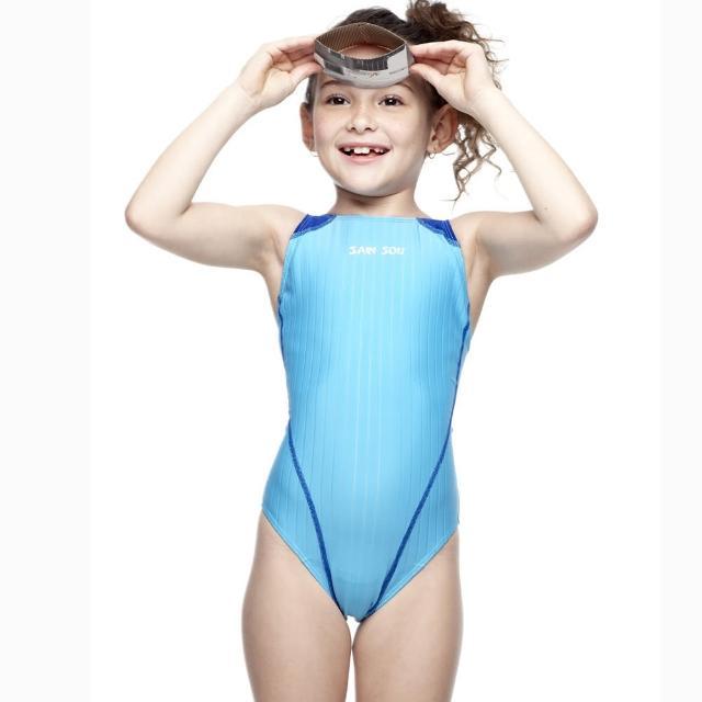 【好物推薦】MOMO購物網【SAIN SOU】女童競賽型泳裝(附泳帽A87403-06)效果好嗎momo新聞