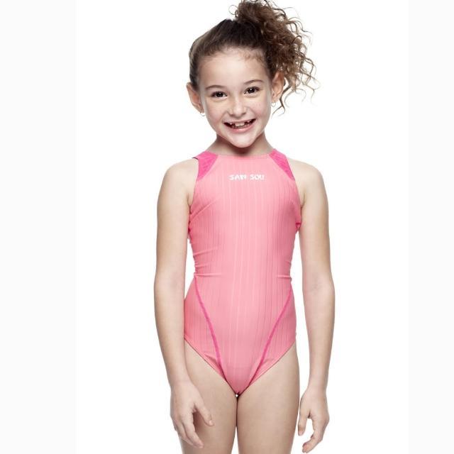 【網購】MOMO購物網【SAIN SOU】女童競賽型泳裝(附泳帽A87403-08)有效嗎富邦mo mo