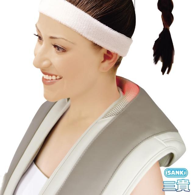 【私心大推】MOMO購物網【日本SANKI三貴】肩頸按摩大師 回銷美國升級版(灰)評價好嗎momo臺