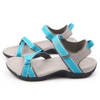 【TEVA】女款 水陸多功能運動涼鞋(TV1006263LAK-湖水綠)