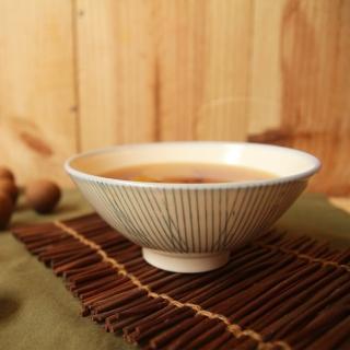 【PEKOE飲食器】竹籬錐碗‧4入