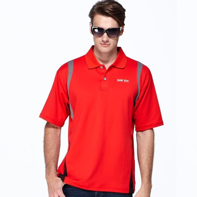 【SAIN SOU】台灣製涼感吸濕排汗POLO衫(T265momo購物型錄03-03)