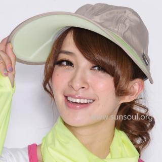 【SUNSOUL】光能帽-寬版棒球帽(黃光)