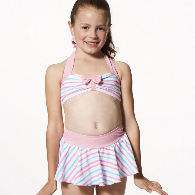 【網購】MOMO購物網【SAIN SOU】MIT女童兩件式泳裝(附泳帽A82501)心得momo 折價