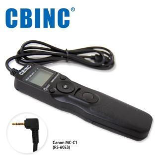 【CBINC】C1 液晶定時快門線 相容 CANON RS-60E3