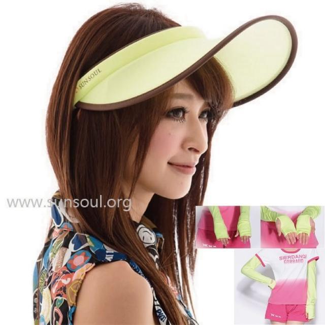 【好物推薦】MOMO購物網【SUNSOUL】光能帽-傑克帽+袖套組(黃光)評價如何momo購物中心