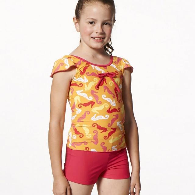 【好物分享】MOMO購物網【SAIN SOU】MIT女童兩件式泳裝(附泳帽A82506)推薦momo百貨