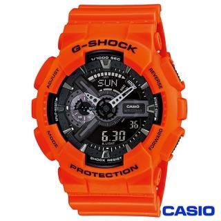 【CASIO卡西歐】榮耀之星魅力時尚雙顯運動腕錶(GA-110MR-4A)