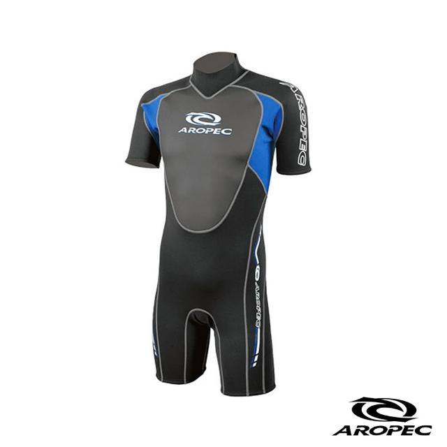 【AROmomo購物 運費PEC】Climax 頂點男款潛水防寒衣(黑/藍)